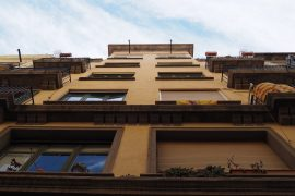 Rehabilitación de fachada en el Born de Barcelona
