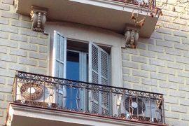 Fachada en Avenida Diagonal de Barcelona