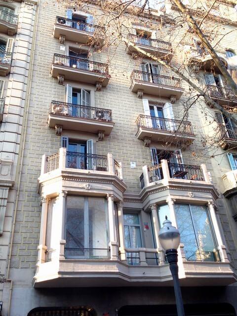Reforma fachada de barcelona