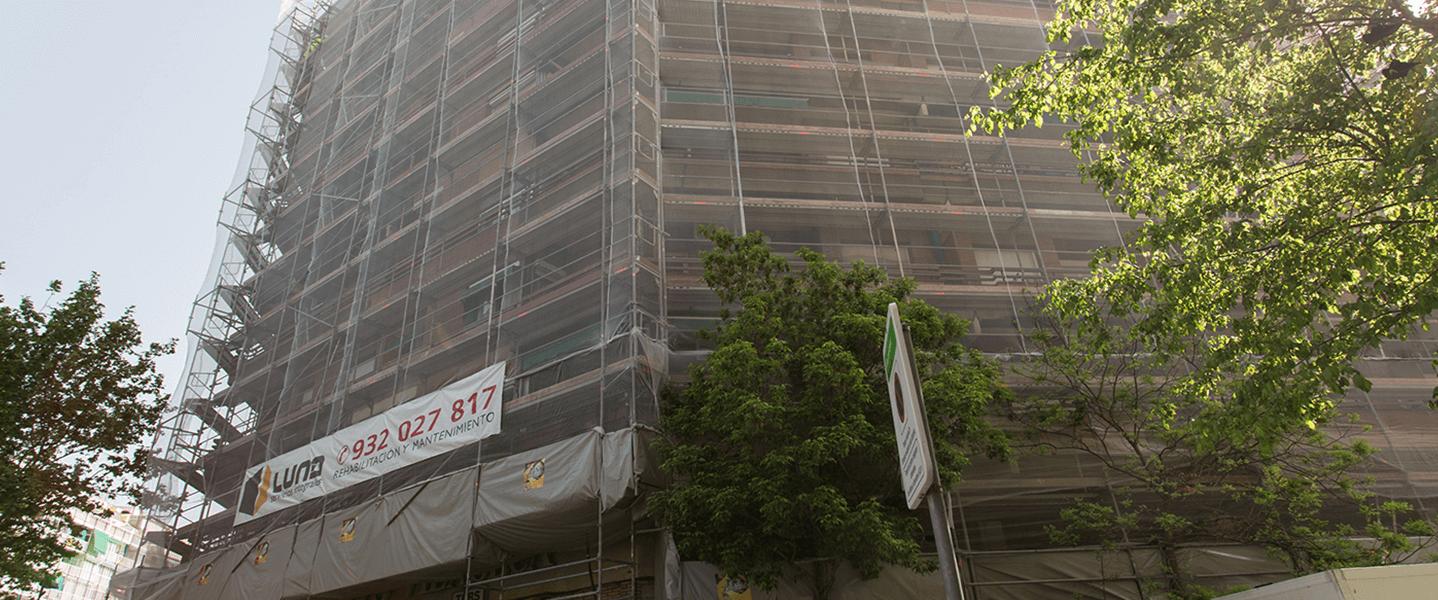 rehabilitacion edificios y fachadas en barcelona
